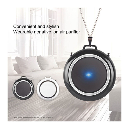 Picture of Air Purifier Necklace Wearable Portable USB Personal Ionizer Hepa Portable Air Freshener, UE04AIRF1