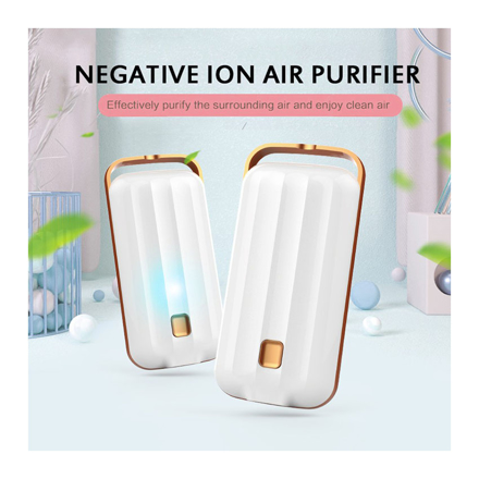 Picture of Anion Air Purifier Necklace Portable, Air Purifier Small Neck, Air Purifier Prevent PM2.5 Formaldehyde Necklace, UE04AIRF2