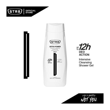 Picture of Str8 Shower Gel 400 ml Detox Power, 8571027208
