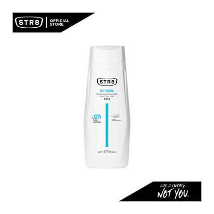 Picture of Str8 Shower Gel 400 ml Icy Cool, 8571027194