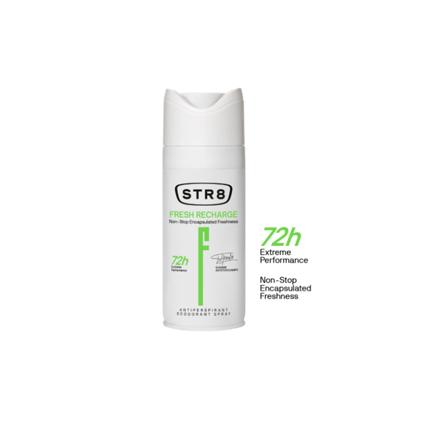 Picture of Str8 Deodorant Spray 250 ml Fresh Recharge, 8571027195