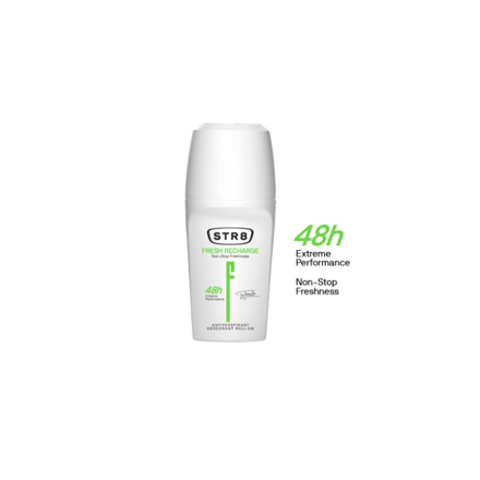 Picture of Str8 Deodorant Roll On 250 ml Fresh Recharge, 8571027196