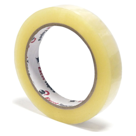 Picture of Excel Stationery Tape (12mm x 50m, 18mm x 50m, 24mm x 50m), EXCELS.TAPE