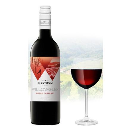 Picture of De Bortoli WillowGlen Shiraz & Cabernet Australian Red Wine 750 ml, DEBORTOLISHIRAZ