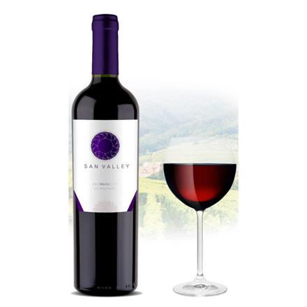 Picture of San Valley Merlot Chilean Red Wine 750 ml, SANVALLEYMERLOT