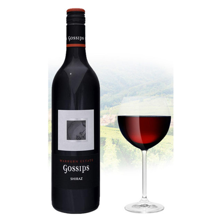 Picture of Gossips Shiraz Australian Red Wine 750 ml, GOSSIPSSHIRAZ