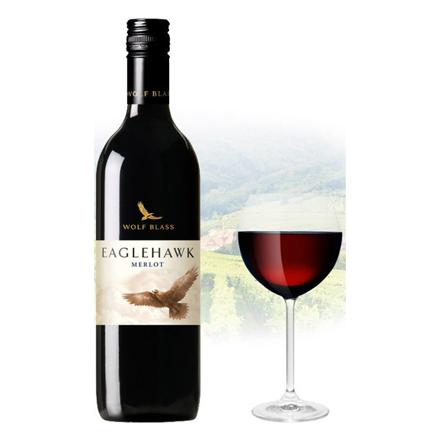 Picture of Wolf Blass Eaglehawk Merlot Australian Red Wine 750 ml, WOLFBASSMERLO