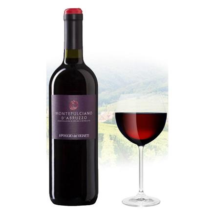 Picture of Il Poggio Montepulciano d'Abruzzo Italian Red Wine 750 ml, ILPOGIOD'ABRUZZO