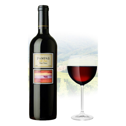 Picture of Pampas del sur Tinto Argentinian Red Wine 750 ml, PAMPASTINTO