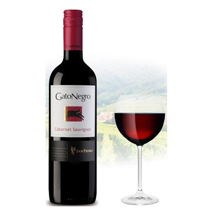 Picture of Gato Negro Cabernet Sauvignon Chilean Red Wine 750 ml, GATONEGROSAUVIGNON