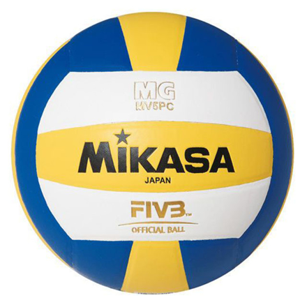 Picture of Misaka Synthetic Leatherette Rubber Bladder Volleyball, SYNTHETICVOLLEYBALL