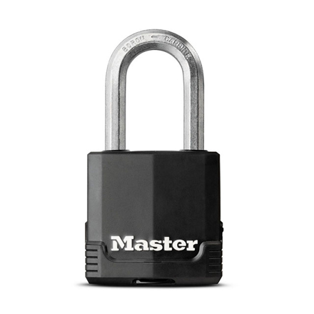Picture of Master Lock Padlock Laminated Steel 49mm 38mm Shackle, MSPM115DLF