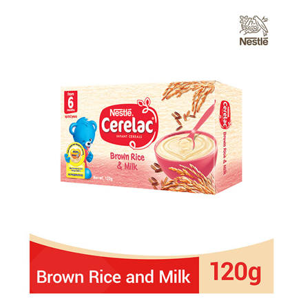 Picture of Nestle Cerelac Brown Rice and Milk 120g, CER08