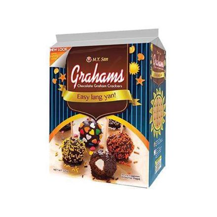 Picture of M.Y San Grahams Cracker Choco (25g, 225g), GRA41