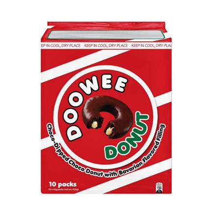 Picture of Rebisco Doowee Donut 10 packs (Chocolate, White chocolate, Strawberry), DOO01