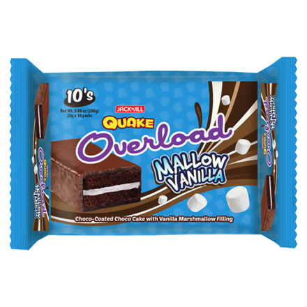 Picture of Jack 'N Jill Quake Overload Mallow Vanilla 10 packs, QUA09