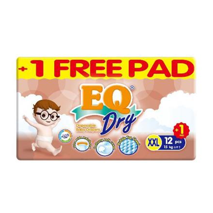 Picture of EQ Diaper Dry XXL 12+1's, EQ063A