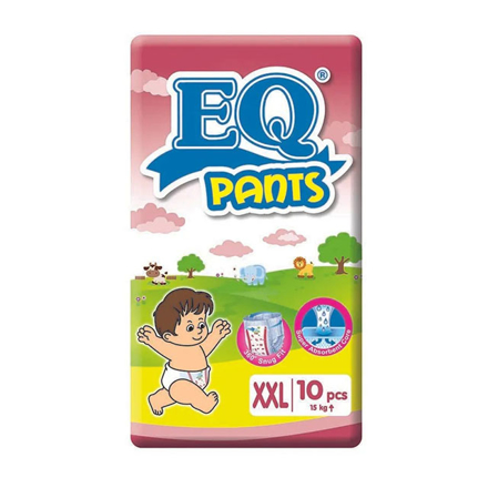 Picture of EQ Diaper Pants XXL (10's, 24's, 40's, 66's), EQ049
