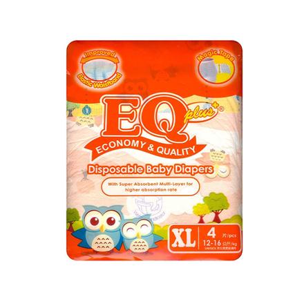 Picture of EQ Diaper Plus Xtra Large 4's, EQ006