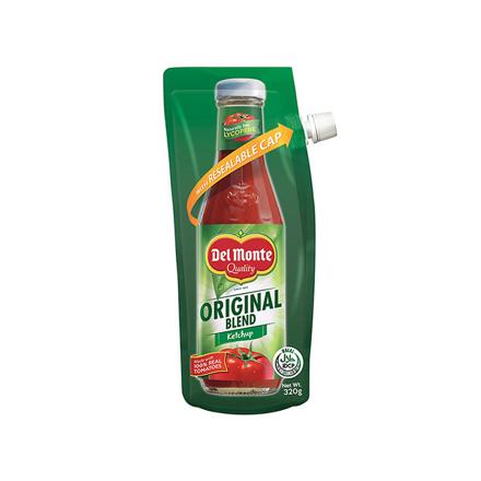 Picture of Del Monte Tomato Ketchup Original Blend Spout 320g, DEL103