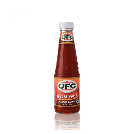 Picture of UFC Banana Catsup Hot and Spicy 320g, UFC01