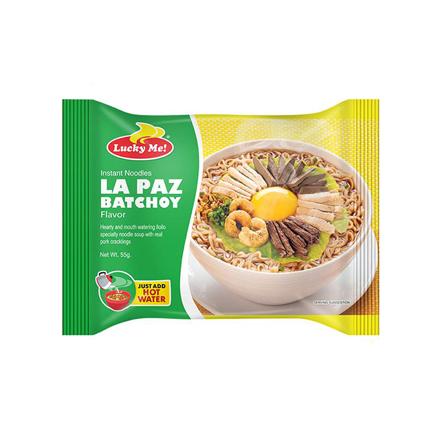 Picture of Lucky Me Instant Noodles La Paz Batchoy 55g, LUC111