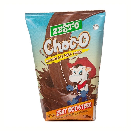 Picture of Zesto Choc-O Drink Wedge 110 ml 10 packs, ZES49