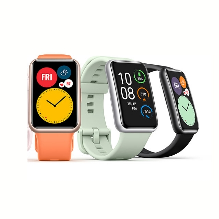 Picture of Huawei Watch Fit (Black, Green, Orange), HWATCHFIT