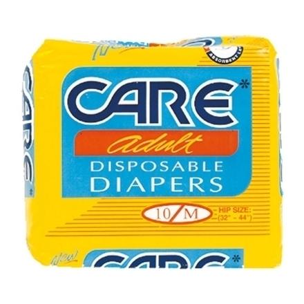 Picture of Care Adult Diaper (Medium) 10+1, CAR98A