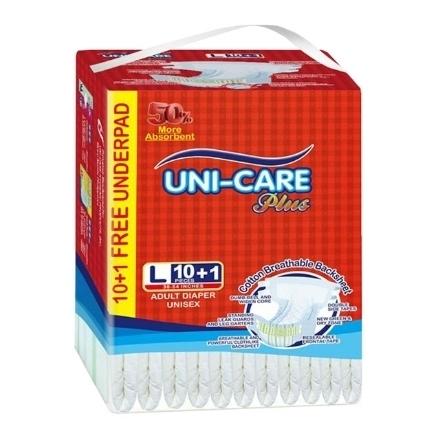 Picture of Uni-Care Diaper Adult Plus (Large) 10+1, UNI23A
