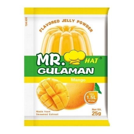 Picture of Mr. Hat Gulaman Powder Mango 10's (25g), MRH16