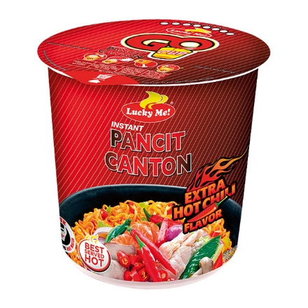 Picture of Lucky Me! Instant Pancit Canton Cup Hoy Chili 70g, LUC59