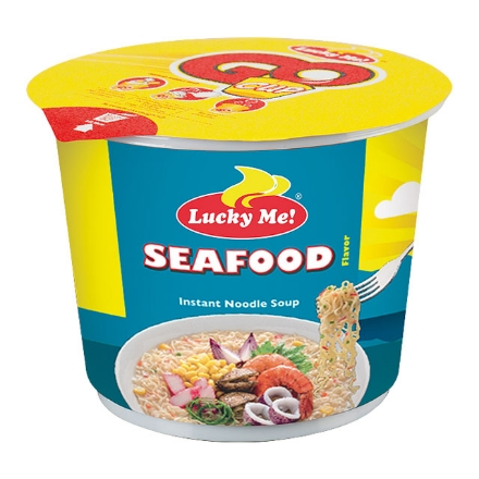 Picture of Lucky Me! Go Cup Mini Seafood 40g, LUC68