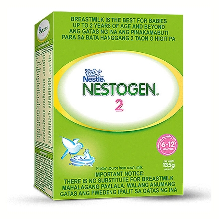 Picture of Nestogen Two Milk 6-12 Months (135g, 340g, 700g, 1.3 kg, 1.8 kg), NES68