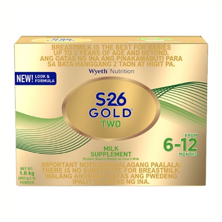 Picture of Wyeth S-26 Gold Two Milk 6-12 Months 1.8 kg, S2632