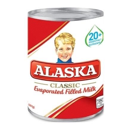 Picture of Alaska Evaporated Milk 370ml, ALA02