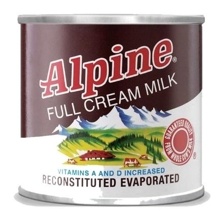 Picture of Alpine Full Cream Evaporated Milk 154ml, ALP106