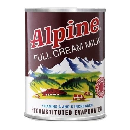 Picture of Alpine Full Cream Evaporated Milk 370ml, ALP100