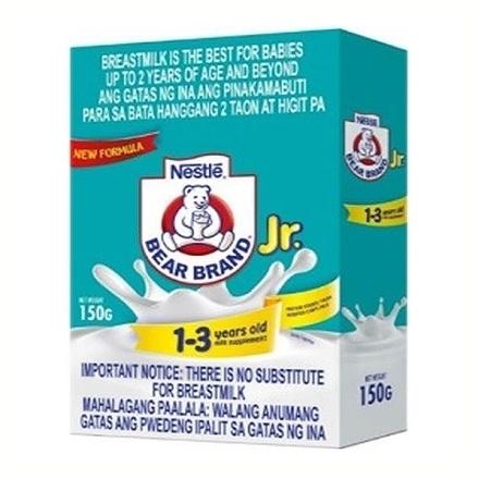 Picture of Nestle Bearbrand Milk Jr. 1-3 Years Old (150g, 420g, 750g, 1.6 kg, 2.4 kg), BEA57