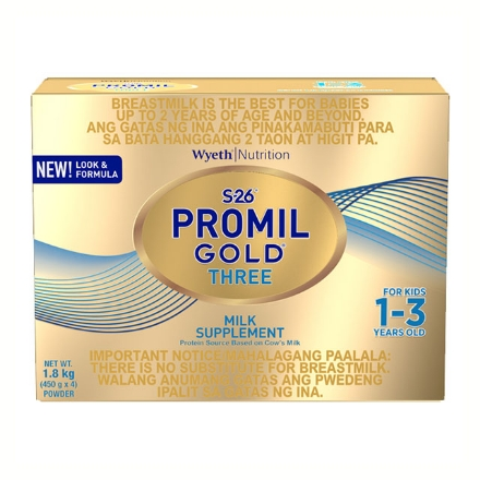 Picture of Wyeth S-26 Promil Gold Three Milk 1.8 kg, S2635
