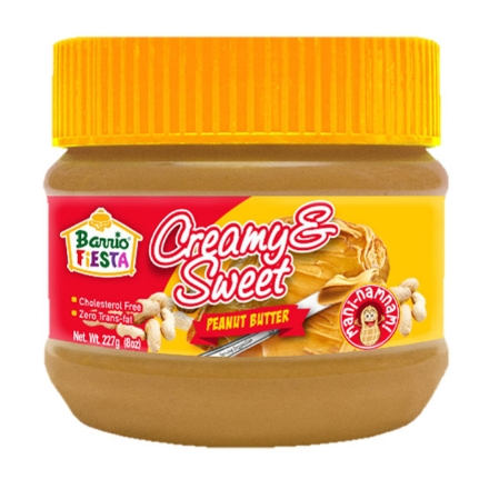 Picture of Barrio Fiesta Peanut Butter Creamy & Sweet 227g, BAR37