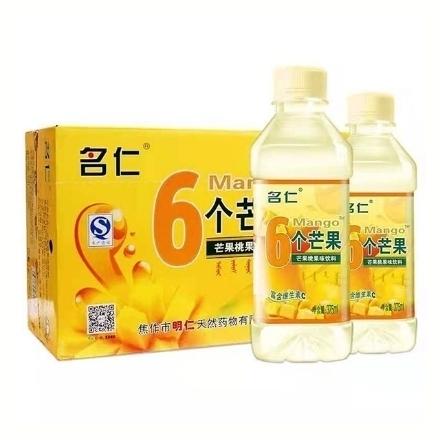 Picture of Mingren 6 Mangoes 375ml1 bottle, 1*24 bottle