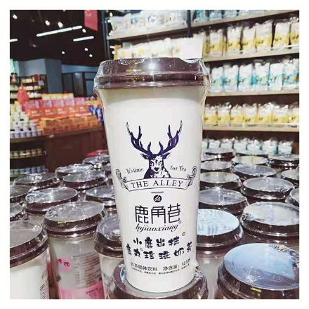 Picture of Lujiaoxiang Milk Tea Xiaoluchumo 123g 1 bottle, 1*20 bottle