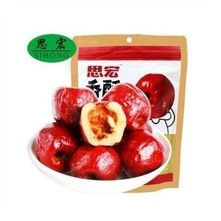 Picture of Sihong crispy jujube 168g,1 pack,1*30 pack   思宏香酥脆枣168g,1包,1*30包