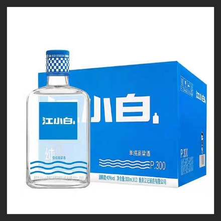Picture of Jiang Xiaobai White Wine (40 degrees) 300ml, 1 bottle, 1*12 bottle