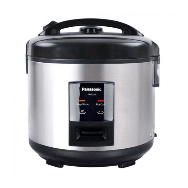 Picture of Panasonic SR-CEZ18SC Jar-Type Rice Cooker, 139250