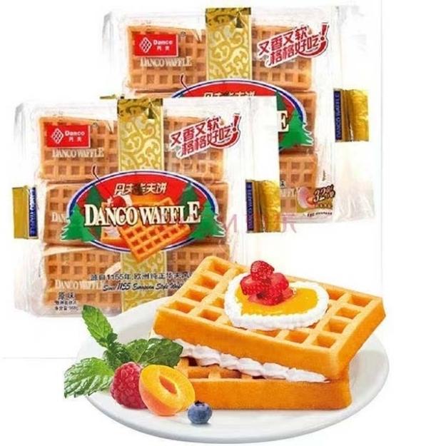 Picture of Danfu waffles,1 package | 丹夫华夫饼,1包