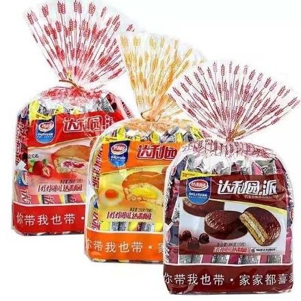 图片 Daliyuan Pie,flavor(Egg Yolk Pie, Strawberry Pie, Chocolate Pie),1 package | 达利园派(蛋黄派,草莓派,巧克力派),1包
