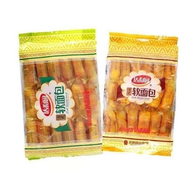 Picture of Daliyuan French Soft Bread,flavor(Orange Flavor, Milk Flavor) 360g,1 package   达利园法式软面包(香橙味,香奶味)360g,1包