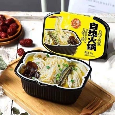 图片 Chihuo Self-heating Hot Pot (Duck Soup) 260g,1 box, 1*24 box,吃货圈子自热火锅(老鸭汤)260g,1盒,1*24盒